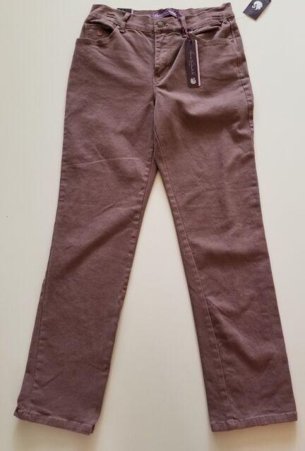Womens Medium Wash Gloria Vanderbilt Amanda Boot Cut Jeans Size 6 Short NWT NEW