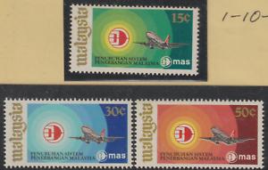 53-MALAYSIA-1973-MALAYSIA-AIRLINE-SYSTEM-MAS-SET-3V-FRESH-MNH-CAT-RM-15