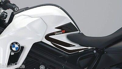ADESIVI in resina Gel 3D PROTEZIONI LATERALI compatibili F 800 R MOTO BMW F800R