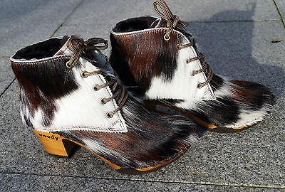 42 wood Naturfell Damen Fell gefütterteBay flex Woody o Gr36 Stiefelette Stiefel N8nPkXO0w
