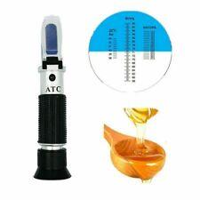 Portable Atc 58 90 Brix Refractometer Honey Moisture Meter Tool For Beekeeping