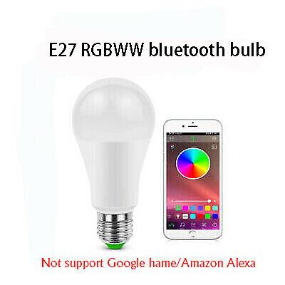 WIFI RGB LED bulb long-range control Dimmable RGB night light for Google home