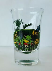 Australia-Frog-Fluted-Shot-Glass