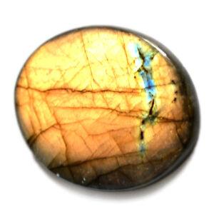 Cts-92-9-Natural-Sunset-Orange-Labradorite-Cabochon-Oval-Cab-Loose-Gemstones