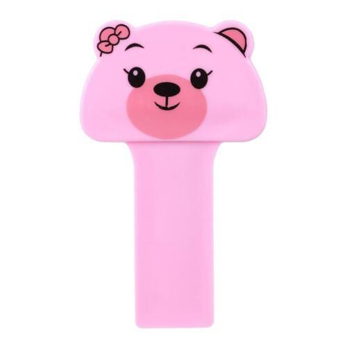 Toilet Seat Cover Lifter Handle Hygienic Clean Lift Cute Cartoon Plastic JA