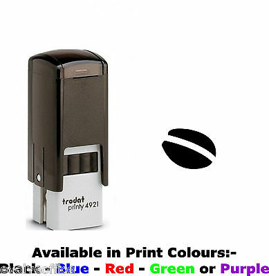 Loyalty Card Stamp Professional Quality Self Inking with COFFEE BEAN image
