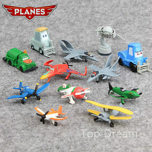 NEW-Movie-Planes-Action-Figures-Doll-Toys-Cake-Topper-Set-of-12pcs