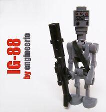 LEGO STAR WARS IG-88 Custom 6209 assassin droid boba jango fett bounty 75167