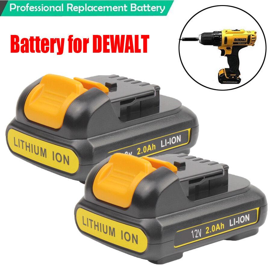 New For DEWALT 12 VOLT MAX 5.0 LITHIUM ION DCB120 DCB127 DCB121 12V BATTERY 3.0A