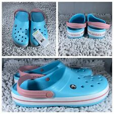 Kids Crocs Crocband Clog K Ice Blue