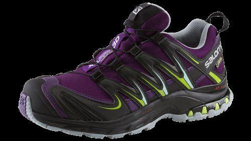 Salomon XA Pro 3D GTX Trailrunning Schuhe Schuhe Schuhe Damen lila schwarz grün 9d4bf8