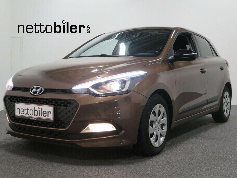 Hyundai i20 1,25 Sport 5d - 89.900 kr.