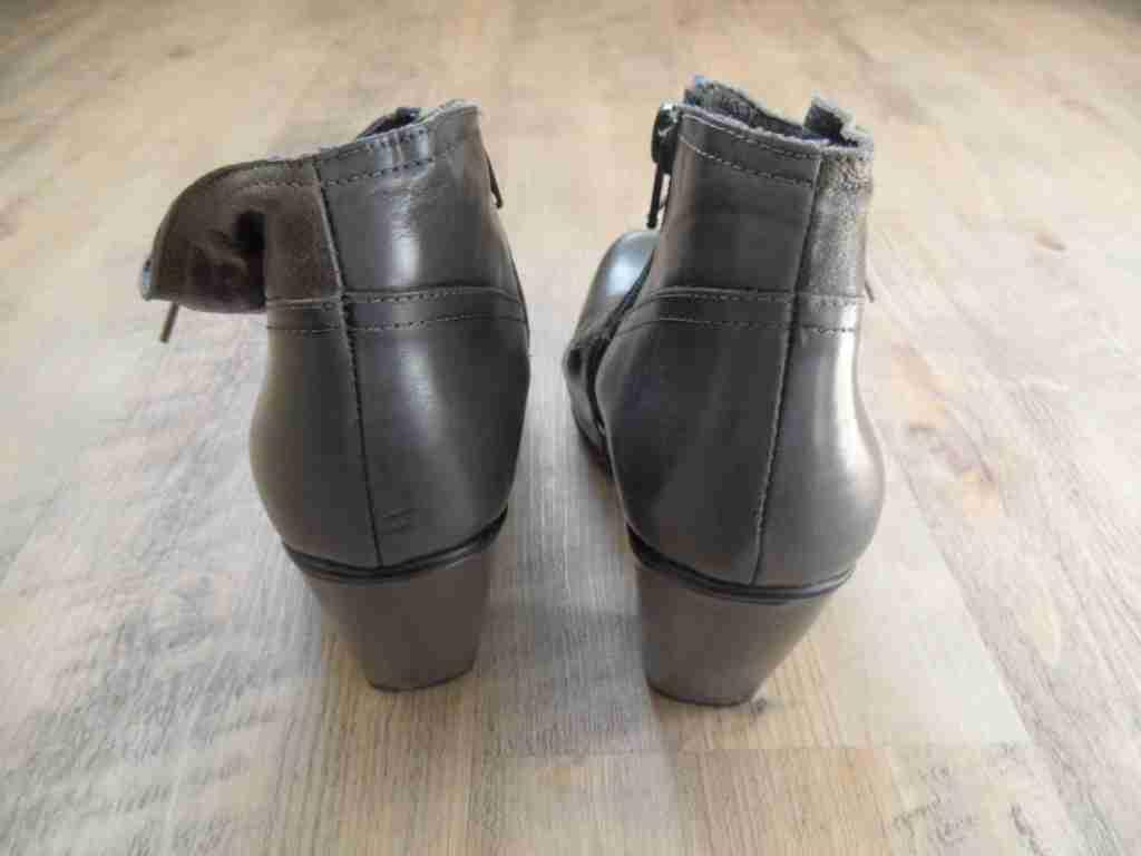 GINO Gr. VAELLO stylische AnkleStiefel oliv Gr. GINO 36 TOP TOP ZC417 911bc7