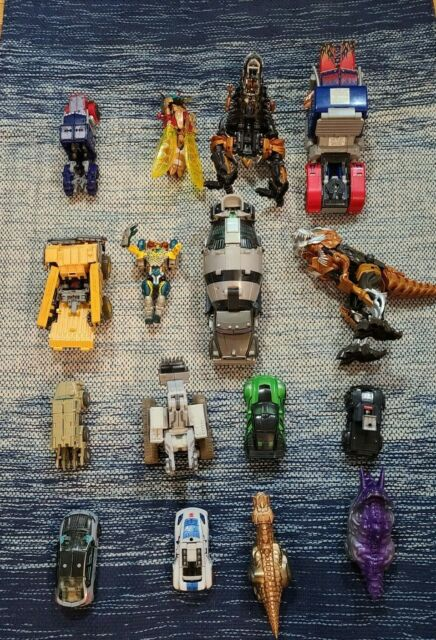 Lot of  Transformers For Parts, Restore Or Customizing