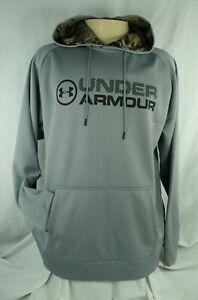 Under Armour Armor Mens Storm Fleece Stacked Hoodie