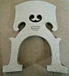 Despiau Superieur Cello Bridge 3//4--Grade D--Belgian Style