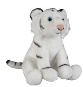 RAVENSDEN SOFT TOY WHITE TIGER 18CM - FR002WT CUDDLY TEDDY PLUSH CUTE FLUFFY