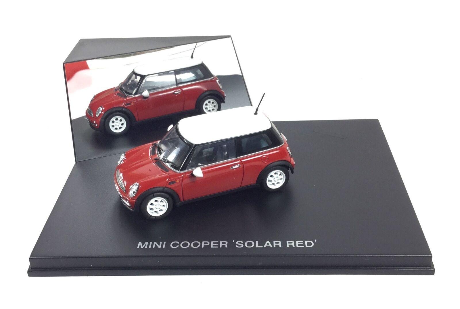 New Mini Cooper Cooper Cooper 2001 • Revell • Solar Red • Metal 1 43 Diecast • MINT BOXED OVP 0710cb