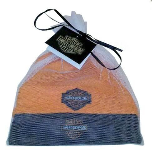 Black//Orange 3050044 Infant 2 Pack Gift Set Harley-Davidson Baby Boys/' Hat Set
