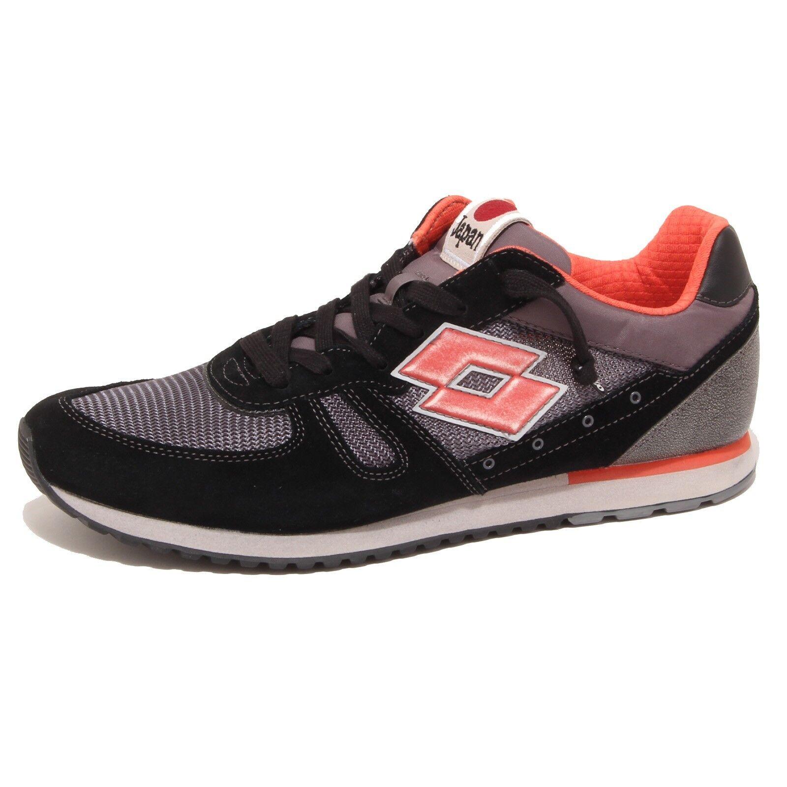 6229P zapatilla de deporte hombres LOTTO LEGGENDA TOKYO SHIBUYA negro gris Zapatos Hombres