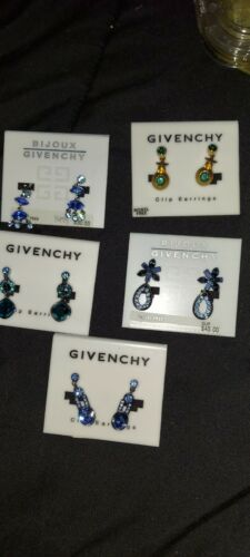 givenchy clip earrings - image 1