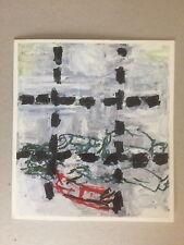 Georg BASELITZ, carta di invito vista private, Anthony d'offay Gallery 1991