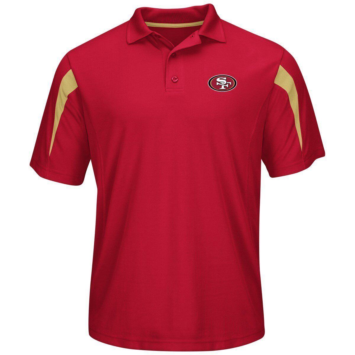 NFL Football Poloshirt Shirt SAN FRANCISCO FRANCISCO FRANCISCO 49ers Field Classic Performance Polo e20068