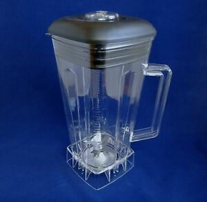 Complete-64oz-Jar-Set-with-Blade-Lid-Center-Fill-amp-Nut-Fits-Vitamix-Blenders