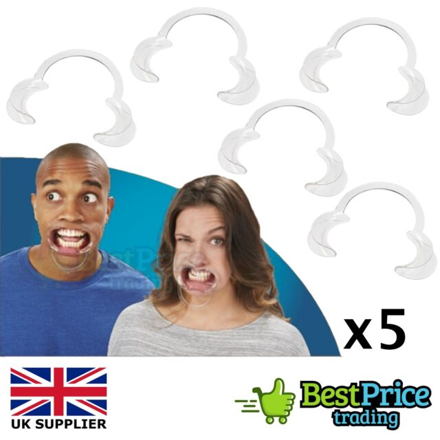 5 x Extra Replacement Hard To Speak Mouth Mouthpieces For Board Game OUT NOW