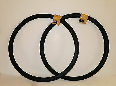 TWO GUM S-5//S-6 26x1-3//8 BICYCLE TIRES TWO TUBES /& TWO RUBBER RIM STRIPS SCHWINN