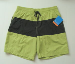NWT-Columbia-Men-039-s-Omni-Shade-Rocky-Wave-Swim-Shorts-Size-S-M-2XL-1685191