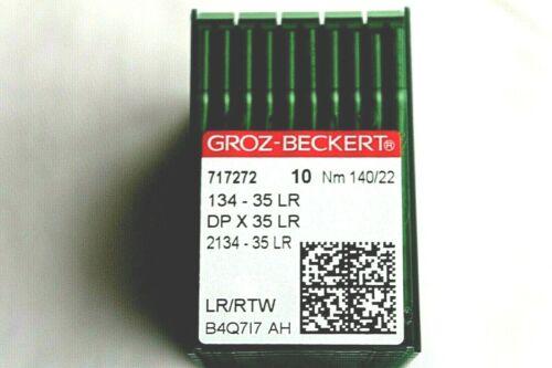 134 - 35 LR Groz Beckert DP X 35 LR NM 140/22 Rundkolben Leder Maschinennadel
