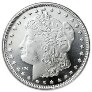 Morgan-Dollar-Design-1-oz-999-Fine-Silver-Rounds-SKU31046