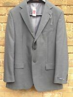 Suit Jacket Blazer Regular Fit M&s Man Marks & Spencers Grey 42l