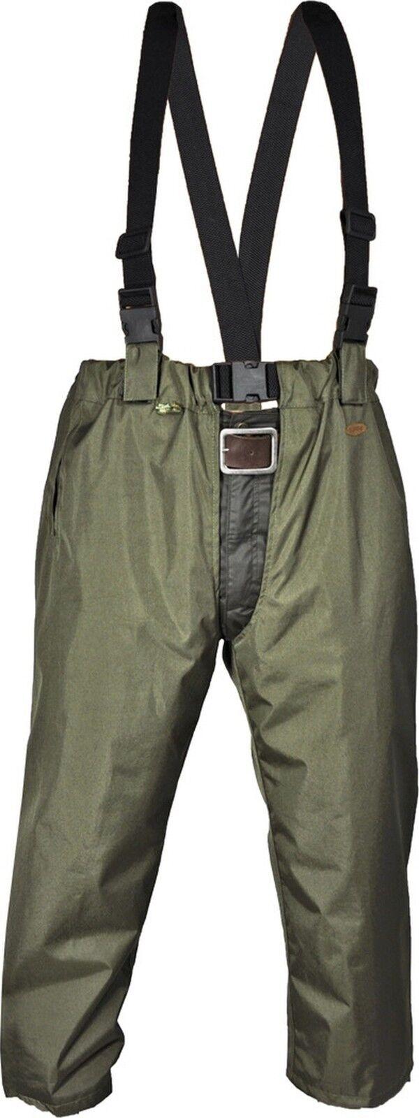 Schützen Sie Ihre Hose mit Beinlinge - Chaps wasser- winddicht oliv von HUBERTUS
