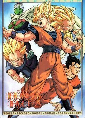 Poster A3 Dragon Ball Trunks Goten Super Saiyan Manga Anime Cartel 01