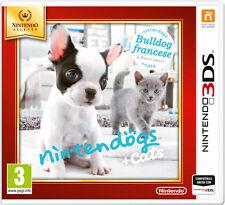 Nintendogs + Cats Bulldog Francese NINTENDO 3DS Select IT IMPORT NINTENDO