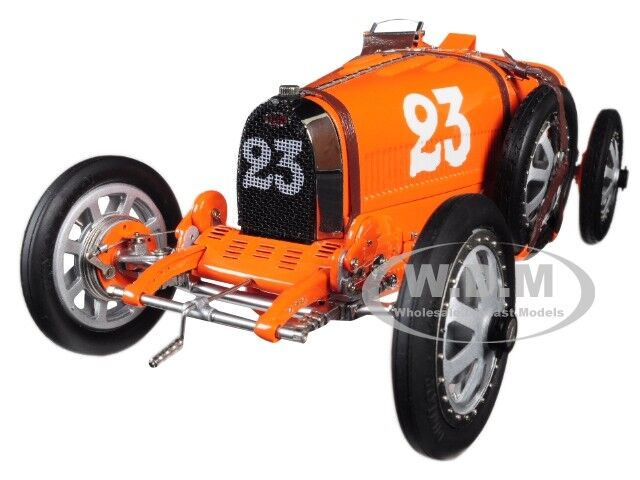 BUGATTI T35 NATIONAL COLOUR PROJECT NETHERLANDS NETHERLANDS NETHERLANDS 1 18 MODEL BY CMC 100B010 8e4f72