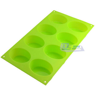 New Silicone Ice Cube Candy Chocolate Cake Cookie Cupcake Soap Molds DIY Mould