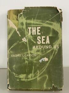 The Sea Around Us by Rachel Carson 1951 First Edition 1st Printing HC/DJ