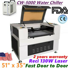 51 X 35 130w Co2 Laser Cutter Usb Port Amp Electric Lifting Worktable Auto Focus