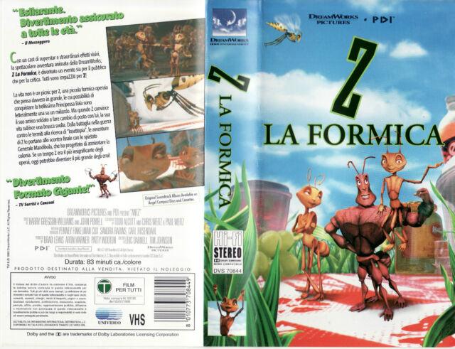 Z la formica (1998) VHS