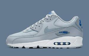 Details about NEW Nike Air Max 90 Grey Blue White Deluxe Edition Mens  Trainers Sneaker Shoes
