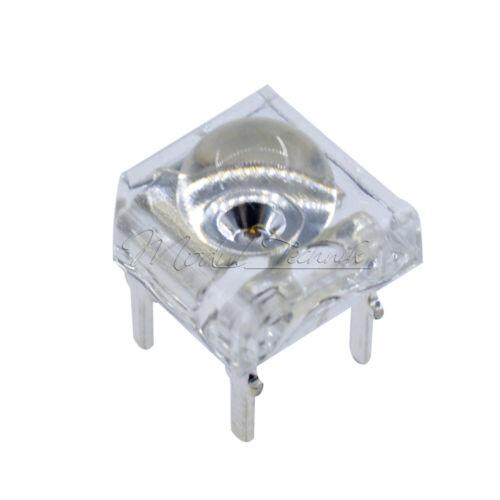10PCS F5 Piranha 5mm LED Rot Super Bright Light Emitting Diode Round Head