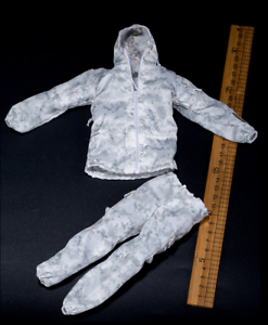 Navy SEAL Winter Mini Times Action Figures White Camo Uniform #2-1//6 Scale