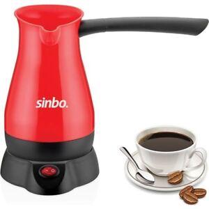 Image result for Sinbo SCM 2928 Greek Turkish Coffee Maker Machine Electric Pot Briki Ibrik 220