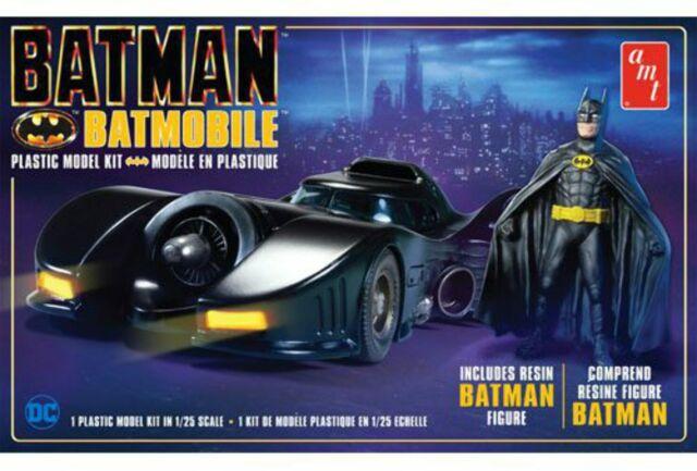AMT 1:25 Batman 1989 Batmobile W/Resin Fig, #R2AMT1107