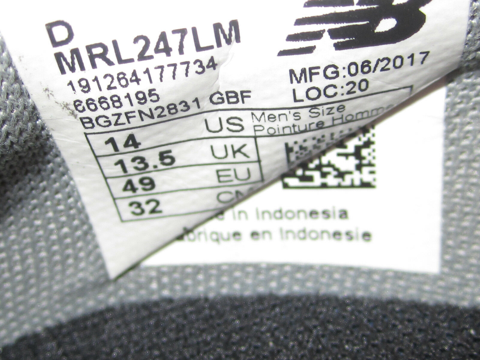 new balance 247 rev - stricken in burgandy grau / schwarz / burgandy in mens mrl247lm größe. 6ae182
