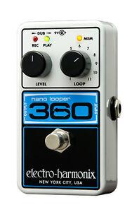 Electro-Harmonix-Nano-360-Looper-pedal-free-shipping