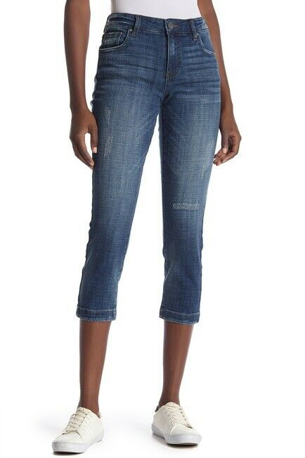 KUT from the Kloth Women's Lauren Crop Jeans Jeans Size 4 MSRP  145